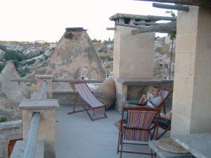 Private Terrace in Turkey