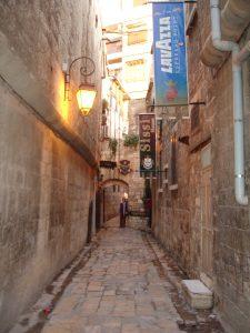 Cobbled al-Sissi street to Beit Wakil