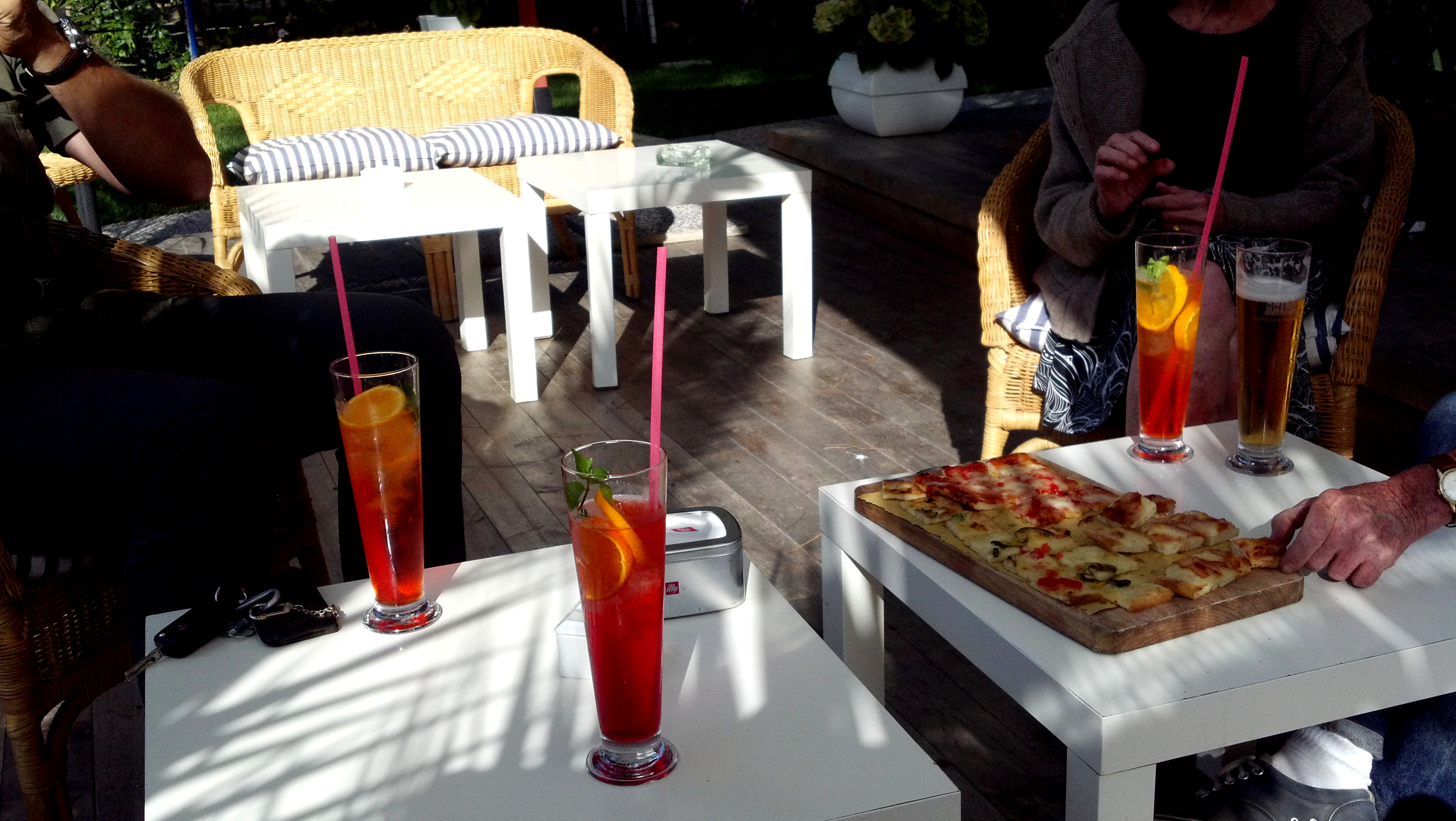 visit to Italy certainly will entail an introduction to aperitivi ...